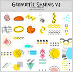 Geometric Shapes version 1 -100x100icontextures