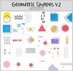 Geometric Shapes version2 -100x100icontextures