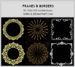 Frames and Borders -100x100icontextures