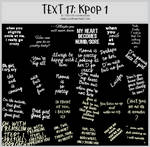 TEXT17 -Korean Pop -100x100icontextures