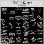 TEXT17 -Korean Pop -100x100icontextures by shiruji