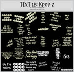 TEXT18 -Korean Pop 2 -100x100icontextures