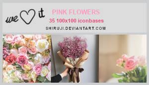 PinkFlowersBases (100x100bases) -Shiruji