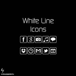 White Line Icons