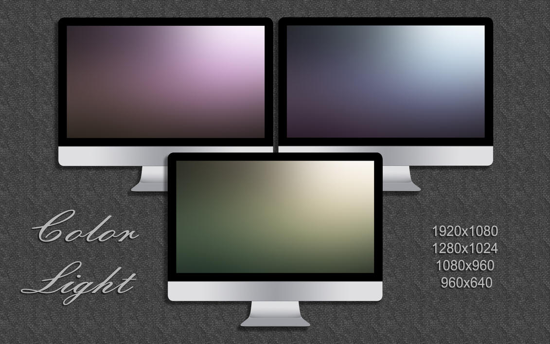 Color Light Wallpaper Pack by vanessaem