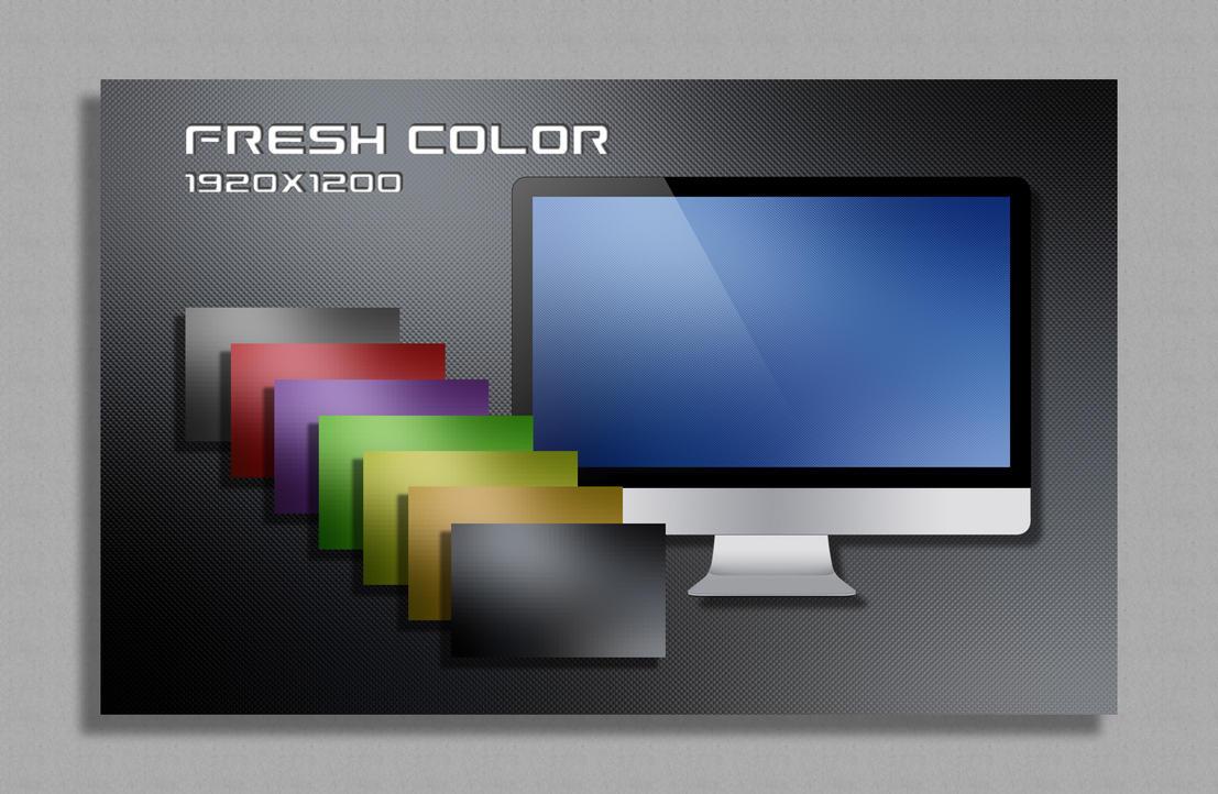 Fresh Color Wallpaper Pack by vanessaem