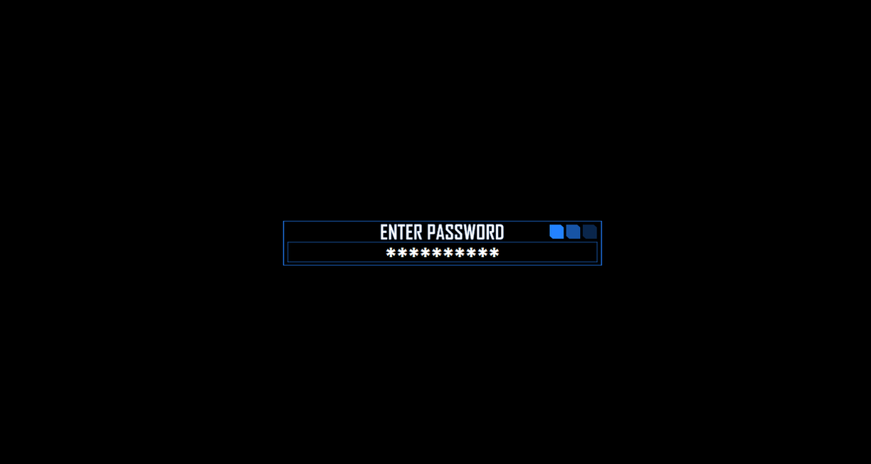 Password Protected Rainmeter by BlueWolf-Productions on DeviantArt