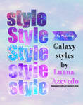 Galaxy Styles for Photoshop