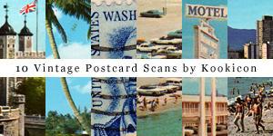 Vintage Postcard Scans