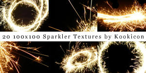Sparkler Textures Are Amazing by kendrakeng