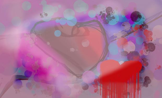 Bubbly Heart Strings by ToonPrincessZelda43