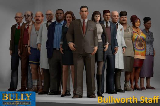 Bullworth Academy Staff XPS Models