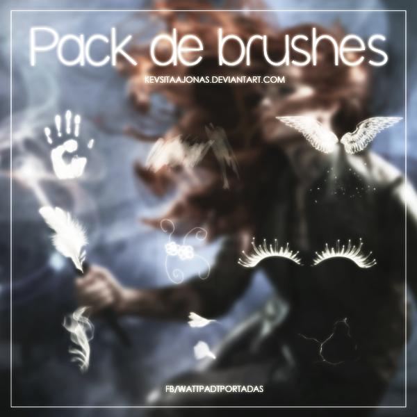Pack brushes: WattpadTPortadas by KevsitaaJonas