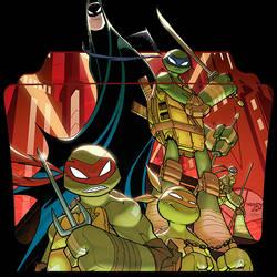 Batman and the Teenage Mutant Ninja Turtles v1 ICO