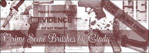 Crime Scene Brushes