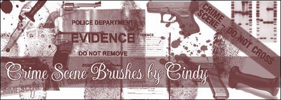 Crime Scene Brushes