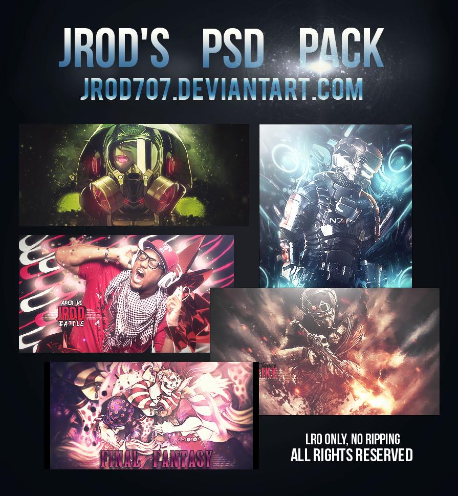 JROD's PSD Pack by JROD707