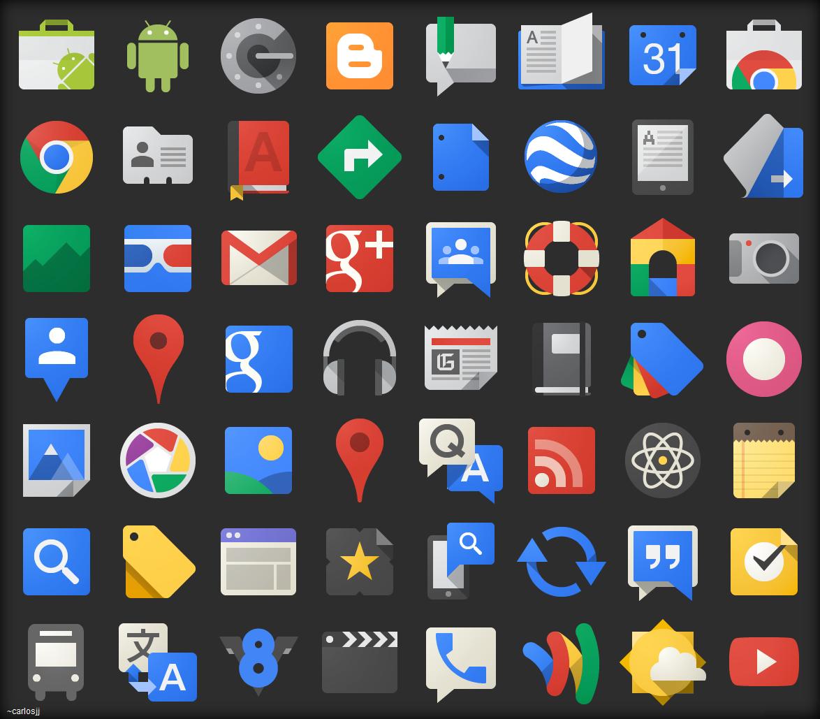 Google JFK Icons....ico Images
