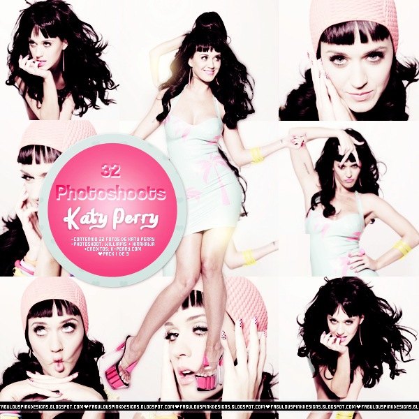 Photopack Katy Perry WILLIAMS Y HIRAKAWA by FabulousPinkDesignsW