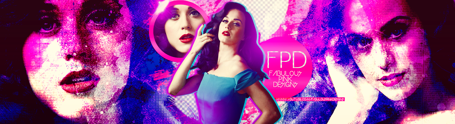 Banner Katy Perry PSD