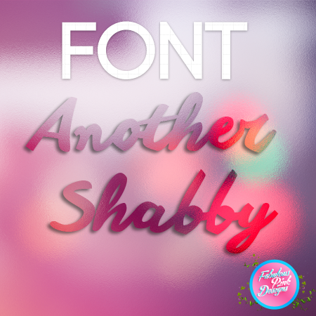 FONT: Another Shabby