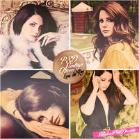 PSD Coloring Vintage Queen Lana del Rey by FabulousPinkDesignsW