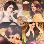 PSD Coloring Vintage Queen Lana del Rey