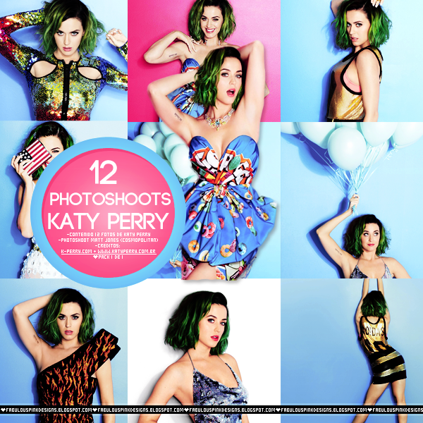 Photopack Katy Perry Cosmopolitan 2014 MATT JONES