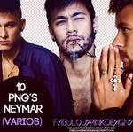 10 Png's Neymar (Varios-Various)