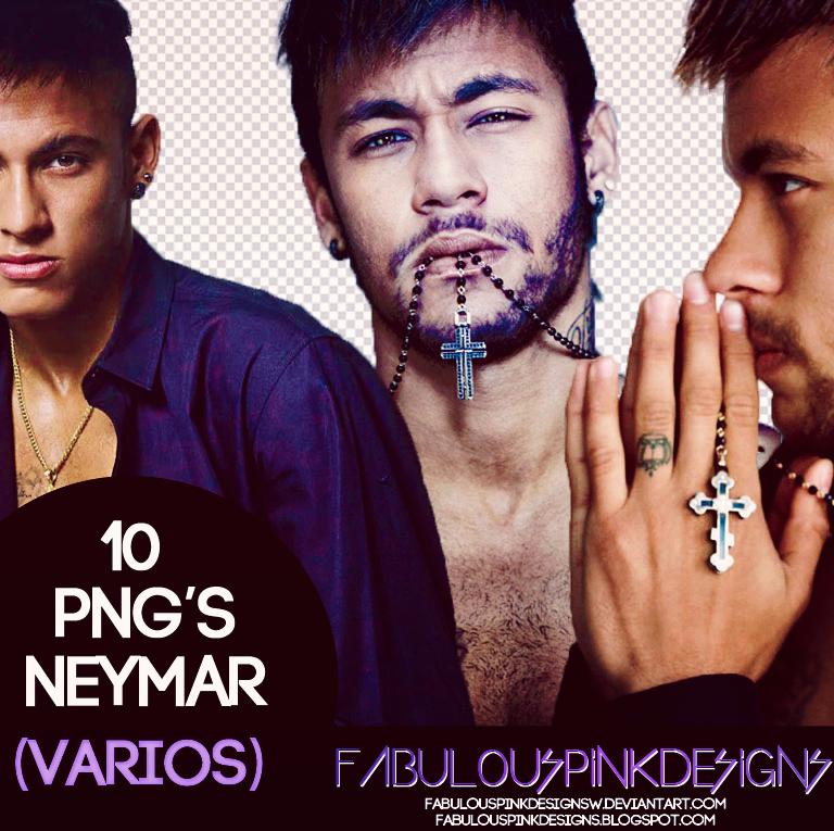 10 Png's Neymar (Varios-Various) by FabulousPinkDesignsW