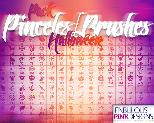 Pack Halloween PINCELES-BRUSHES