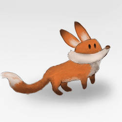 Fox - Jump-Animation