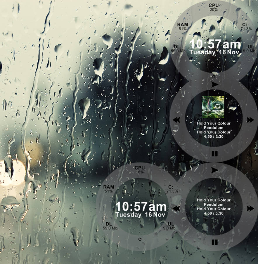 Figures for Rainmeter by BinaryCon