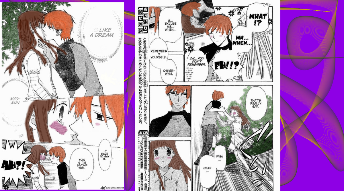 Fruits Basket Manga Colored By PonygirlCombs