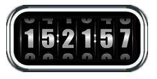 Rolling Clock for Rainmeter