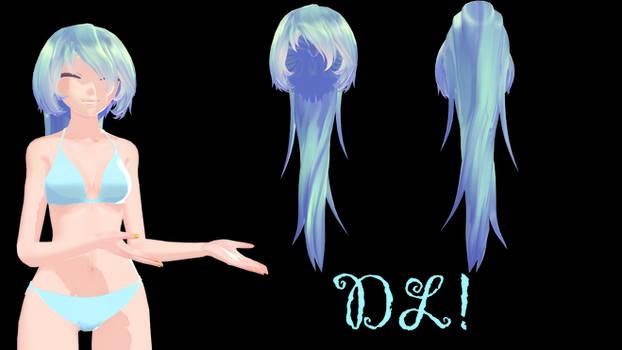[MMD] TDA Messy (I think) Ponytail {DL!}