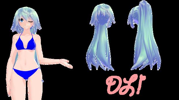 [MMD] TDA Lenka-Like Ponytail {DL!}