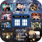 Doctor Who folder icons