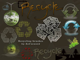Recycling Brushes by ReFocused