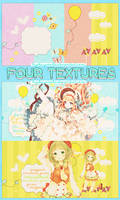 Pack 4 textures: 4 colors. by Hyakuyamika