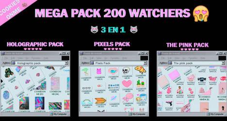 +/MEGAPACK 200 WATCHERS  GRACIASS