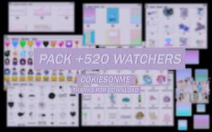 +/SUPERPACK +500 WATCHERS|GRATIS by COOKIESONME