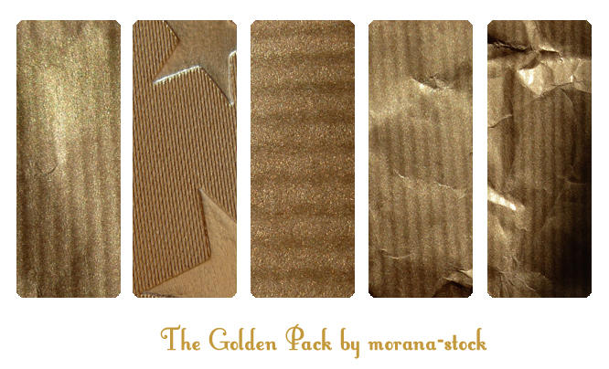 The Golden Pack by morana-stock