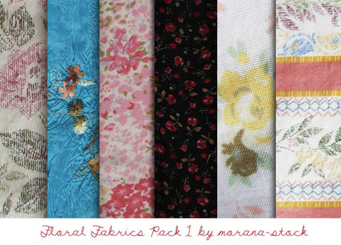 Floral Fabrics Pack 1