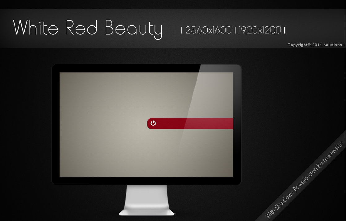 White Red Beauty by solutionall