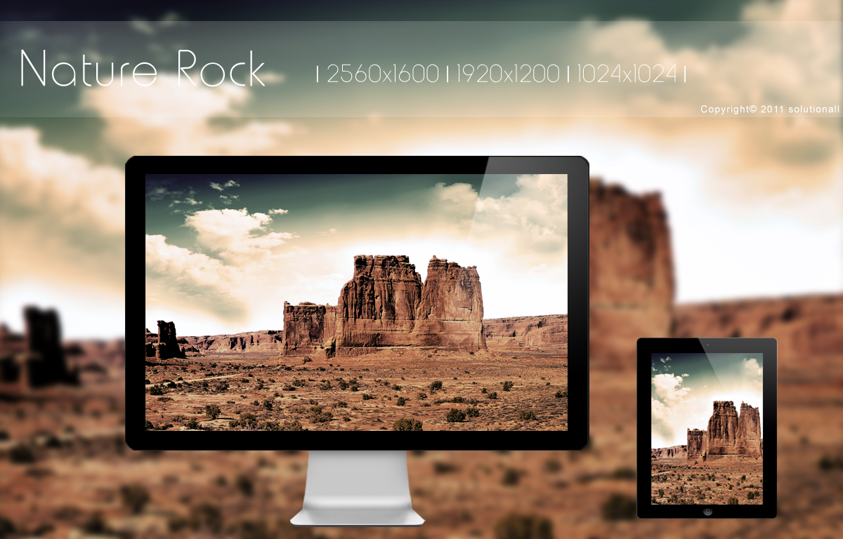 Nature Rock HD Wallpaper by solutionall