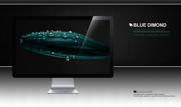 Blue Dimond HD Wallpaper
