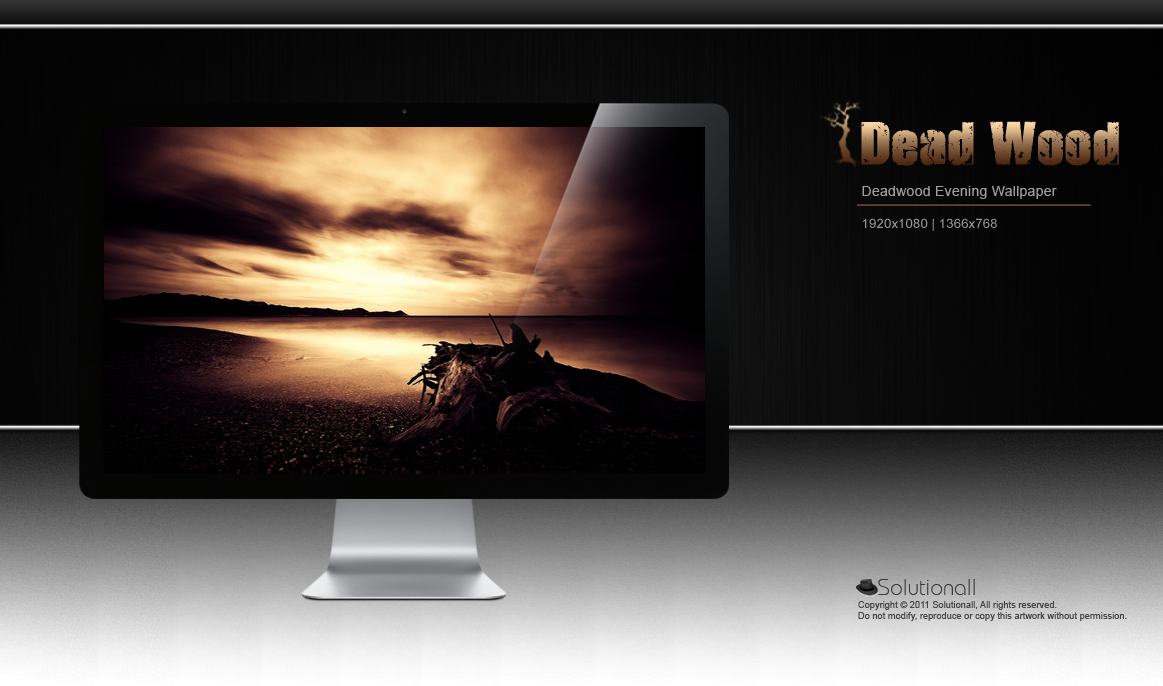 Deadwood Wallpaper by solutionall