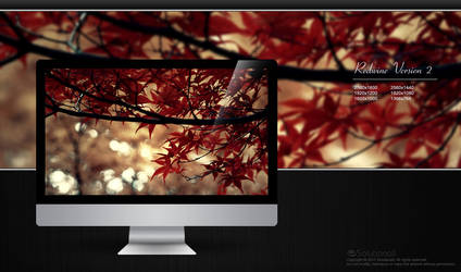 RedwineV2 HD Wallpaper by solutionall
