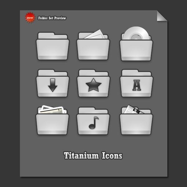 Titanium Folder Set I